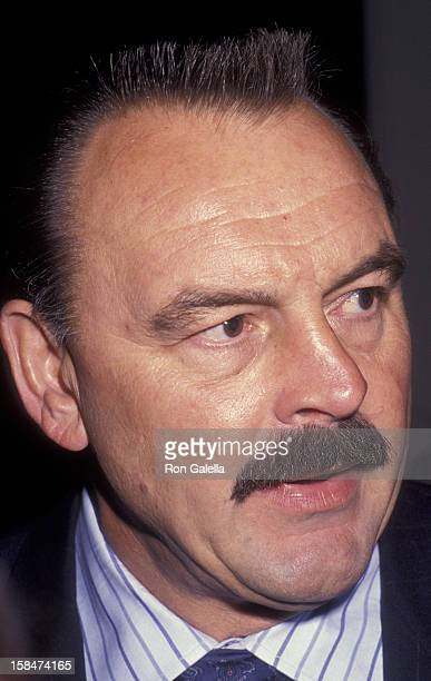 Dick Butkus attends Great Sports Legends Gala on February 11 1992 at the Beverly Hilton Hotel in Beverly Hills California