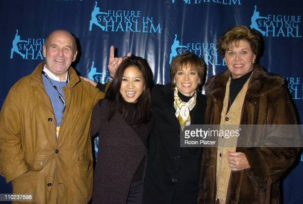 Dick Buttons Michelle Kwan and Dorothy Hamill and Aja Zanova