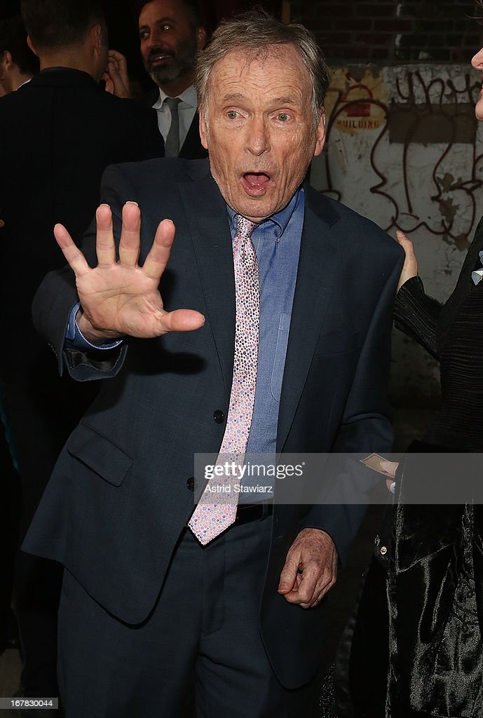 <a gi-track='captionPersonalityLinkClicked' href=/galleries/search?phrase=Dick+Cavett&family=editorial&specificpeople=217287 ng-click='$event.stopPropagation()'>Dick Cavett</a> attends 2013 Creative Time Spring Gala at Domino Sugar Factory on April 30, 2013 in Brooklyn burough of New York City.