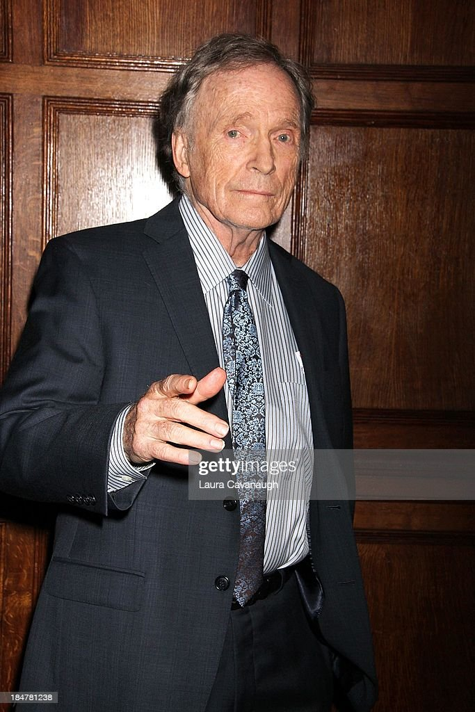 Dick Cavett attends the 11th annual Giants of Broadcasting Honors at Gotham Hall on October 16, 2013 in New York City.
