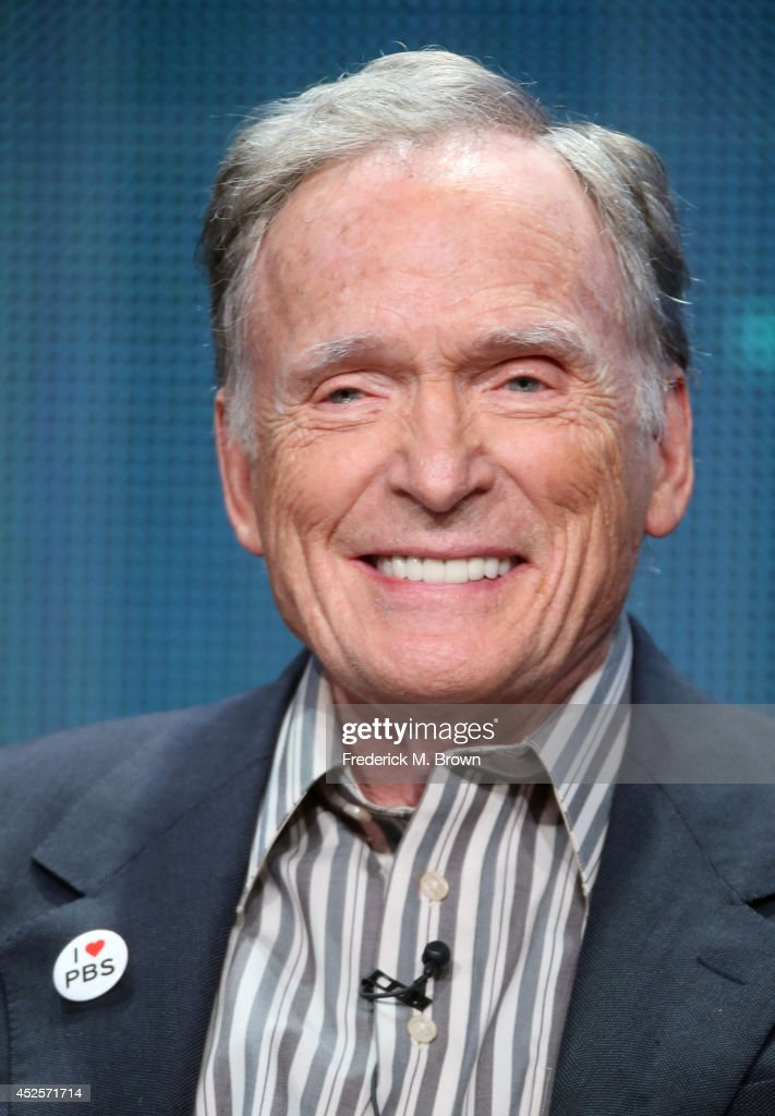 <a gi-track='captionPersonalityLinkClicked' href=/galleries/search?phrase=Dick+Cavett&family=editorial&specificpeople=217287 ng-click='$event.stopPropagation()'>Dick Cavett</a> speaks onstage during the '<a gi-track='captionPersonalityLinkClicked' href=/galleries/search?phrase=Dick+Cavett&family=editorial&specificpeople=217287 ng-click='$event.stopPropagation()'>Dick Cavett</a>'s Watergate (40th anniversary of Nixon's resignation)'' panel during the PBS Networks portion of the 2014 Summer Television Critics Association at The Beverly Hilton Hotel on July 23, 2014 in Beverly Hills, California.