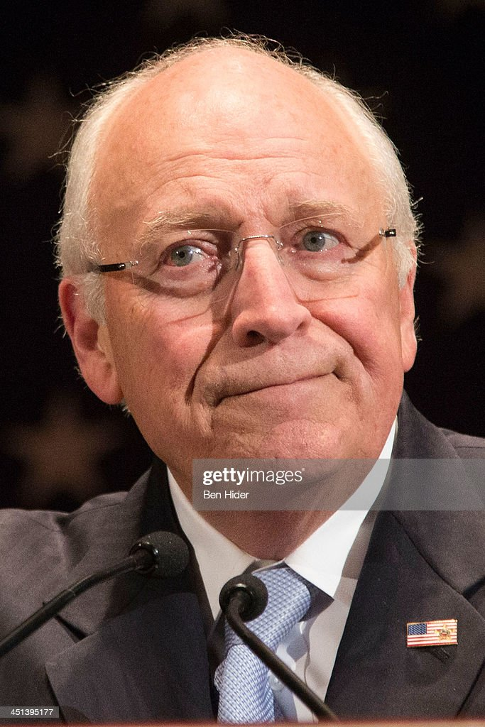 <a gi-track='captionPersonalityLinkClicked' href=/galleries/search?phrase=Dick+Cheney&family=editorial&specificpeople=125149 ng-click='$event.stopPropagation()'>Dick Cheney</a> attends 2013 Federal Law Enforcement Foundation Luncheon at The Waldorf=Astoria on November 22, 2013 in New York City.