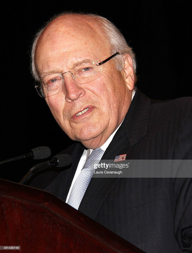 <a gi-track='captionPersonalityLinkClicked' href=/galleries/search?phrase=Dick+Cheney&family=editorial&specificpeople=125149 ng-click='$event.stopPropagation()'>Dick Cheney</a> attends the 2013 Federal Law Enforcement Foundation Luncheon at The Waldorf=Astoria on November 22, 2013 in New York City.