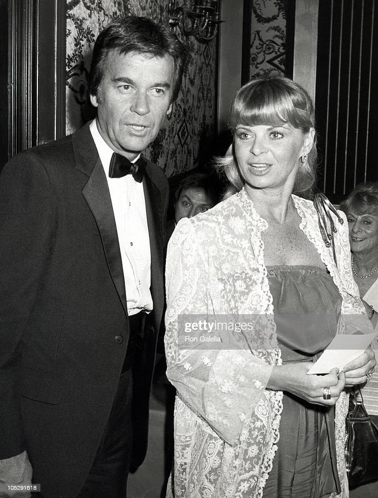 Dick Clark and Kari Clark during The Myasthenia Gravis Foundation Honors Ed McMahon at Beverly Hilton Hotel in Beverly Hills California United States