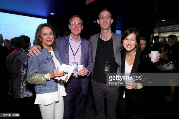 Dick Hoffman Blake Croson and guests pose the Little Kids Rock Benefit 2017 at PlayStation Theater on October 18 2017 in New York City