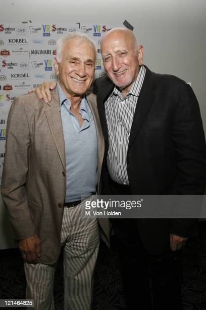 Dick Latessa and Dominic Chianese during The Great New Wonderful Premiere to Benefit Creative Alternative of New York at Angelika Film Center in New...
