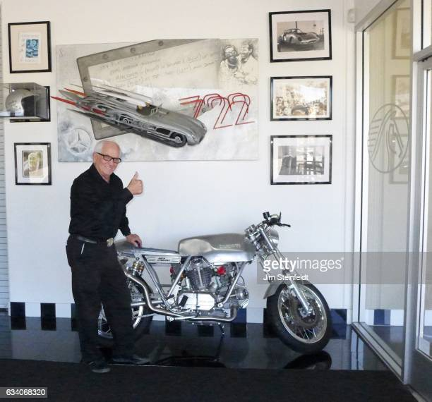 Dick Marconi poses for a portrait at the Marconi Automotive Museum in Tustin California on November 3 2016