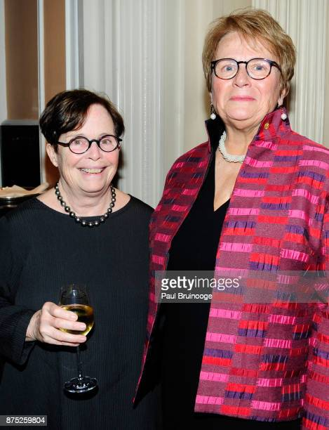 Dick Parsons and AnneImelda Radice attend the American Folk Art Museum Annual Gala at JW Marriott Essex House on November 16 2017 in New York City