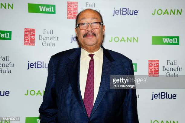 Dick Parsons attends the American Folk Art Museum Annual Gala at JW Marriott Essex House on November 16 2017 in New York City