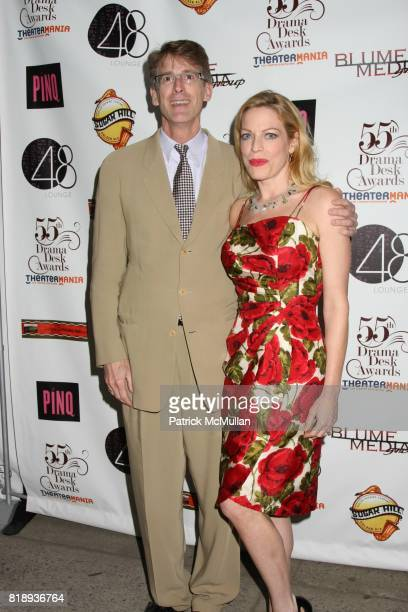 Dick Scanlan and Sherie Rene Scott attend 55th Annual DRAMA DESK AWARDS at FH LaGuardia Concert Hall at Lincoln Center on May 23 2010 in New York City