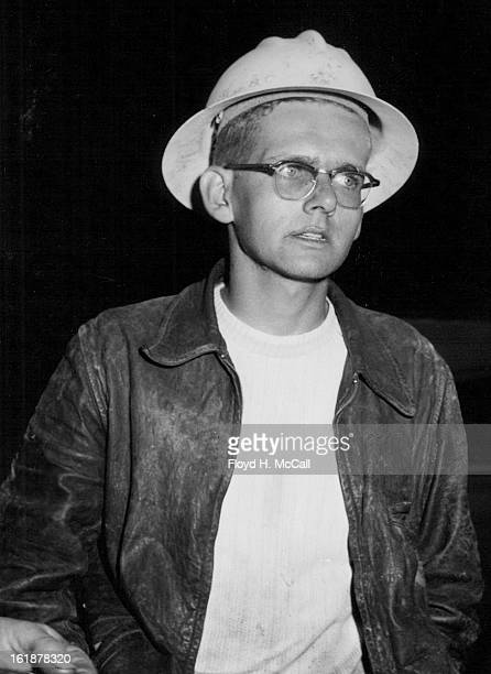 AUG 24 1951 8281951 Dick Scott of O Cola Fla Watched his pals ***** helped injured