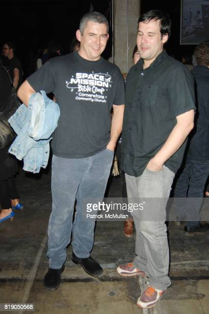 Dick Slessig and Erik Pereira attend West of Rome Public Art Presents Mike Kelley and Michael Smith A Voyage of Growth and Discovery at Eagle Rock on...