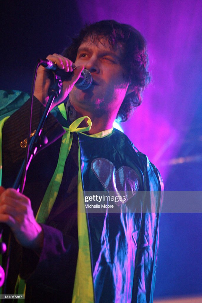 Dick Valentine Performs At O2 Academy On November 29 2011 In Birmingham  England