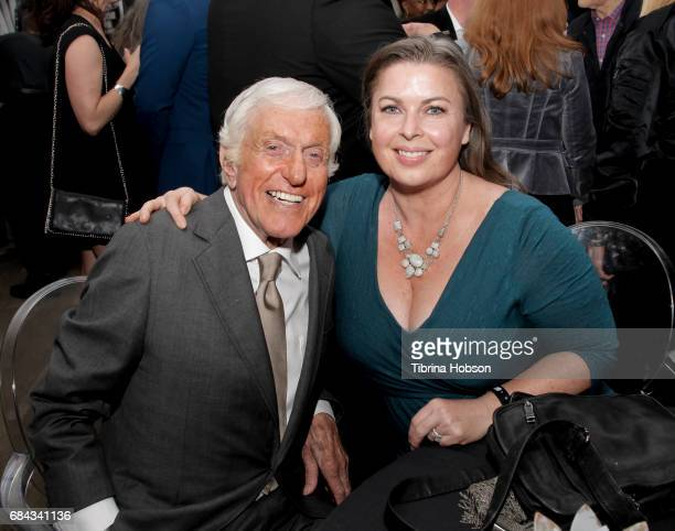 Dick Van Dyke and Arlene Silver attend the Premiere Of HBO's 'If You're Not In The Obit Eat Breakfast' on May 17 2017 in Beverly Hills California