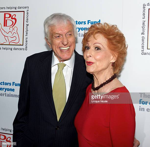 Dick Van Dyke and Carol Lawrence attend the 28th Annual Gypsy Awards Luncheon at The Beverly Hilton Hotel on March 29 2015 in Beverly Hills California