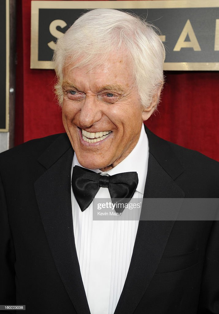 Dick Van Dyke attends the 19th Annual Screen Actors Guild Awards at The Shrine Auditorium on January 27, 2013 in Los Angeles, California. (Photo by Kevin Mazur/WireImage) 23116_016_0304.jpg