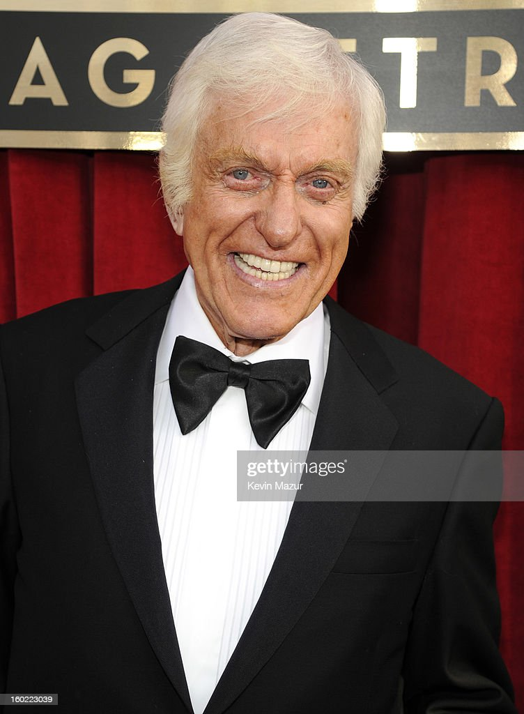 Dick Van Dyke attends the 19th Annual Screen Actors Guild Awards at The Shrine Auditorium on January 27, 2013 in Los Angeles, California. (Photo by Kevin Mazur/WireImage) 23116_016_0306.jpg
