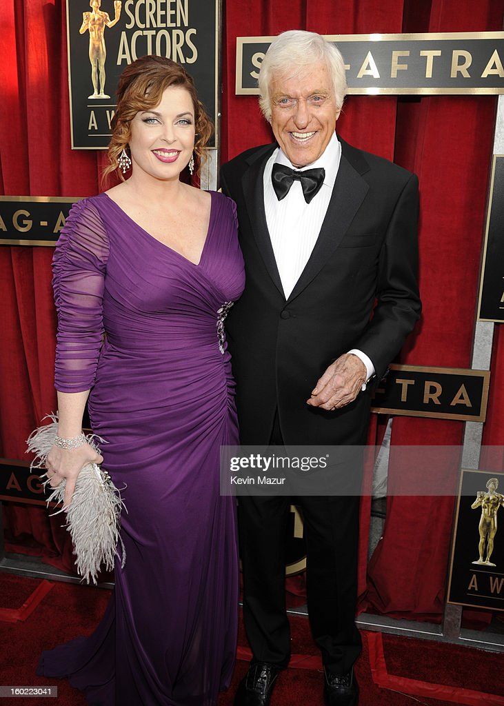 Dick Van Dyke attends the 19th Annual Screen Actors Guild Awards at The Shrine Auditorium on January 27, 2013 in Los Angeles, California. (Photo by Kevin Mazur/WireImage) 23116_016_0311.jpg