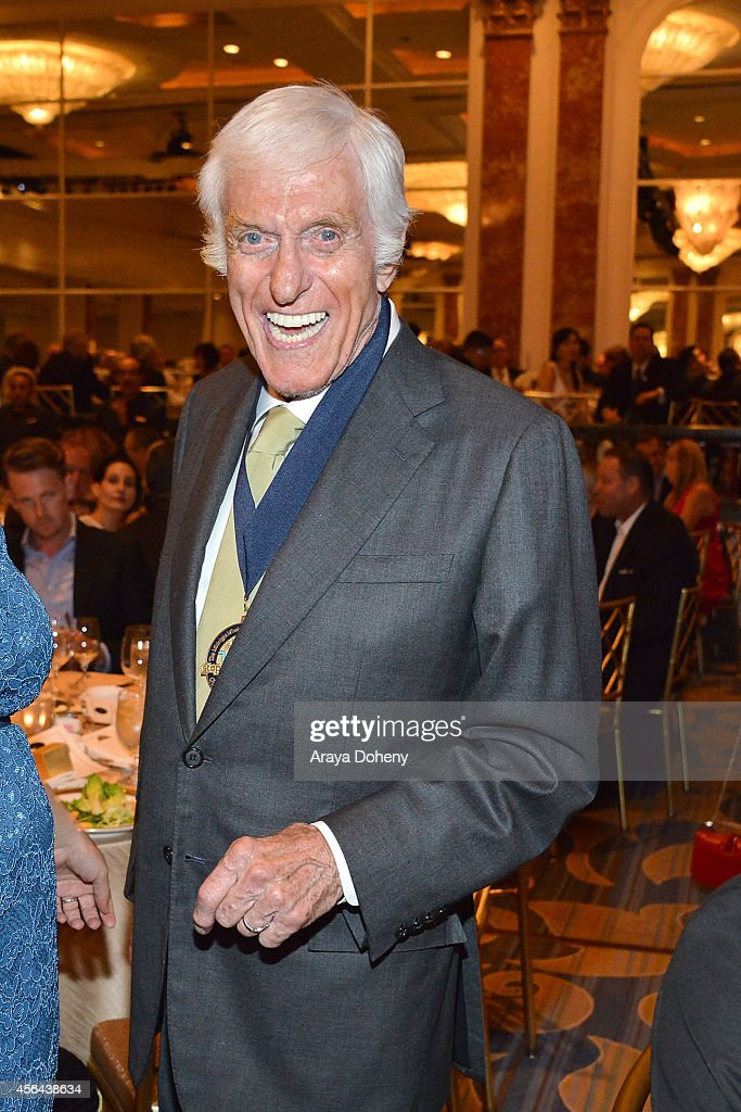 Dick Van Dyke attends the Midnight Mission's 100 year anniversary Golden Heart Gala held at the Beverly Wilshire Four Seasons Hotel on September 30...