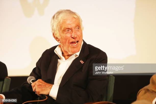 Dick Van Dyke attends the special screening and QA 'Rose Marie Wait for Your Laugh' at Aero Theatre on August 3 2017 in Santa Monica California