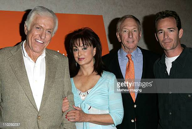 Dick Van Dyke Naomi Judd David Kenin Hallmark Channels' Executive Vicepresident of programming and Luke Perry