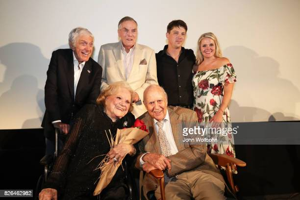 Dick Van Dyke Rose Marie Peter Marshall Carl Reiner Jason Wise and Christina Wise attend the special screening and QA 'Rose Marie Wait for Your...