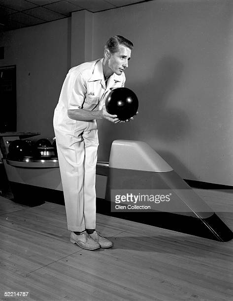 Dick Weber poses for a 1961 portrait after being named National Bowler of the Year In his career Weber won 26 Professional Bowlers Association titles...