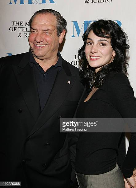 Dick Wolf and Annie Parisse during The Museum of Television Radio Presents The 22nd Annual William S Paley Television Festival 'Law and Order' at The...