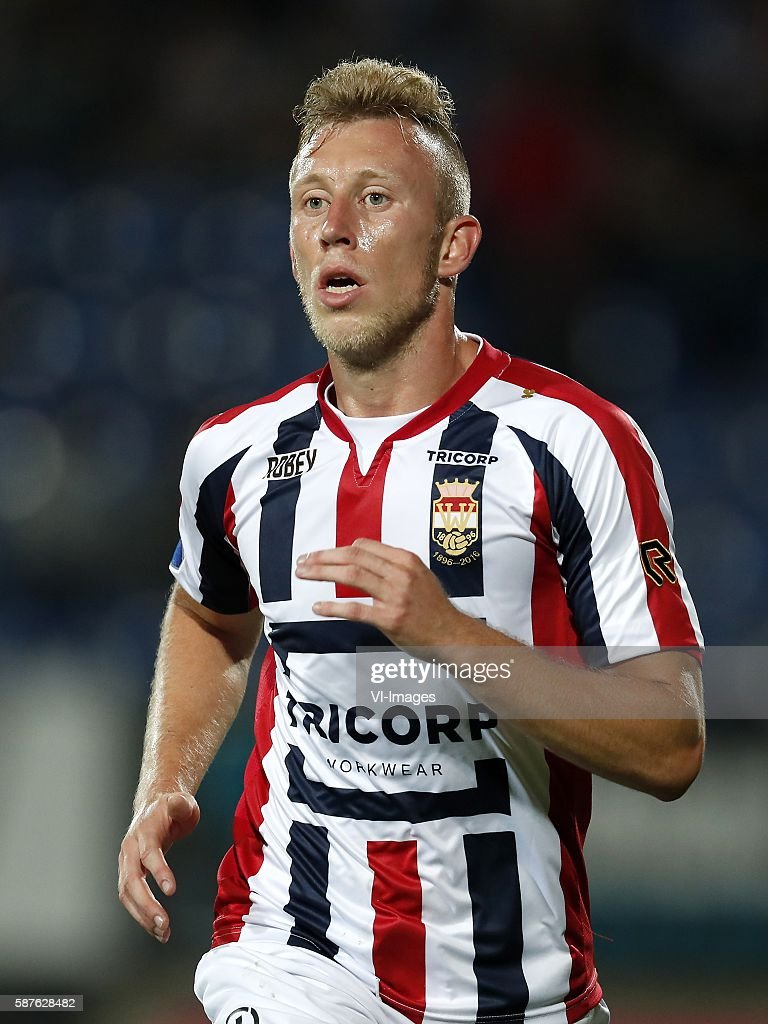 Dico Koppers of Willem II during the Dutch Eredivisie match between Willem II and Vitesse on august 6 2016 at the Koning Willem II stadium in Tilburg...