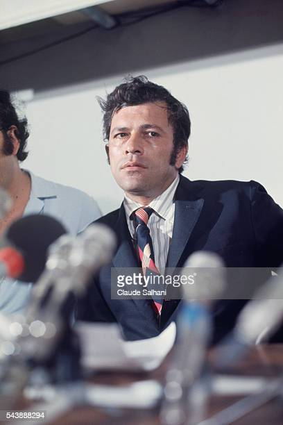 Dictator of Cyprus Nikos Sampson installed by the coup d'etat that overthrew President Makarios in 1974 Sampson was well known as a Greek nationalist...