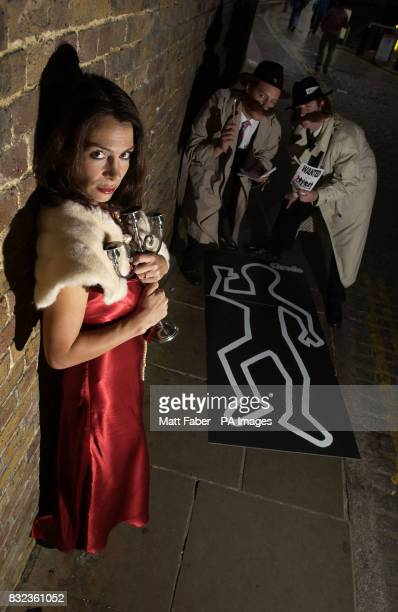 Did Miss Scarlet do it with the candle stick A murder is about to take place giving people across the UK the chance to become a 'Cluedo Cop Star'...