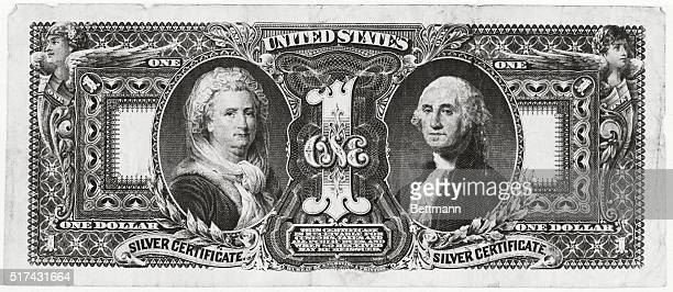 Did you know that Martha Washington is the only woman whose portrait has ever appeared on United States currency This is a reproduction of one of the...