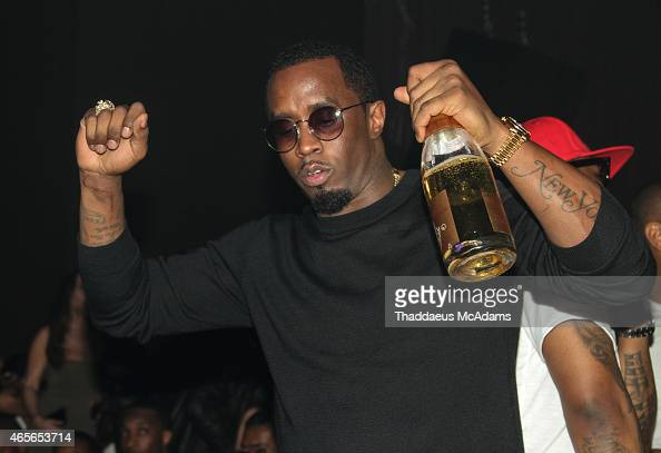 Diddy at LIV nightclub at Fontainebleau Miami on March 8 2015 in Miami Beach Florida