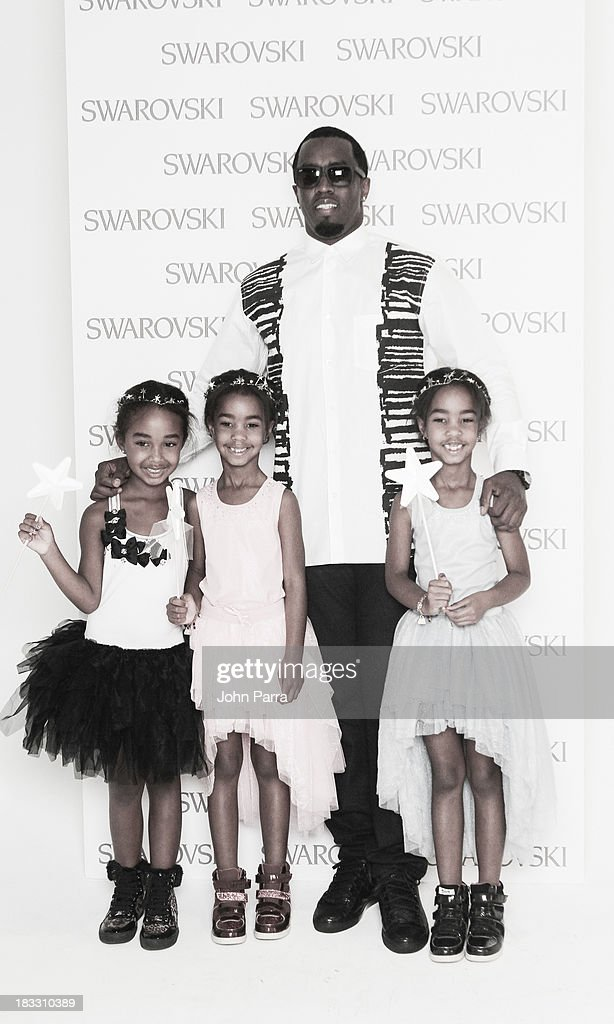P Diddy Combs attends the Swarovski presentation at petiteParade NY Kids Fashion Week in Collaboration with VOGUEbambini on October 5, 2013 in New York City.