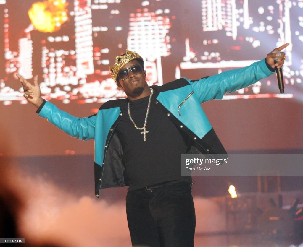 P Diddy performs during the BET Hip Hop Awards 2013 at the Boisfeuillet Jones Atlanta Civic Center on September 28 2013 in Atlanta Georgia