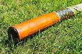 Didgeridoo - traditional aboriginal music intrument from Australia