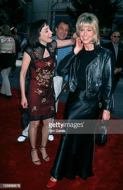 Didi Conn and Olivia NewtonJohn during 20th Anniversary Screening of 'Grease' at Mann's Chinese Theater in Hollywood California United States