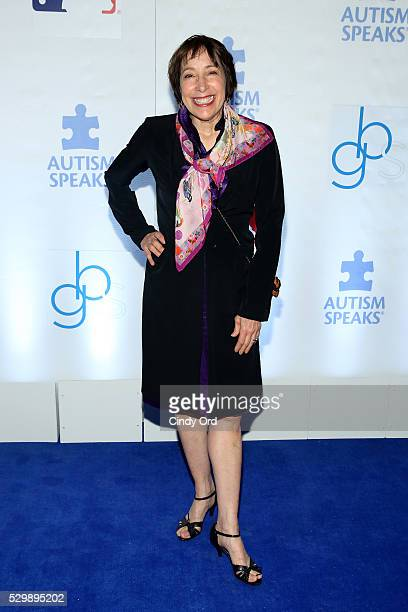 Didi Conn attends Lead Off For A Cure Autism Speaks and Major League Baseball join forces at The Metropolitan Museum Of Art on May 9 2016 in New York...