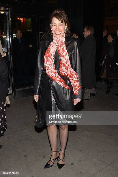Didi Conn during Broadway Opening Night of 'Life 3' Arrivals at Circle In The Square Theater in New York City New York United States