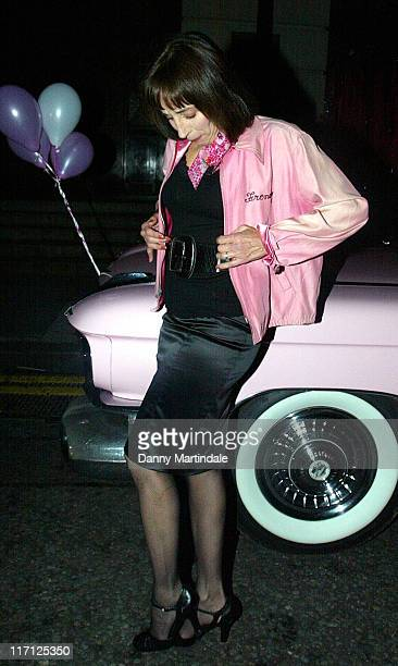 Didi Conn during Grease DVD Launch Party Arrivals at All Star Lanes in London Great Britain