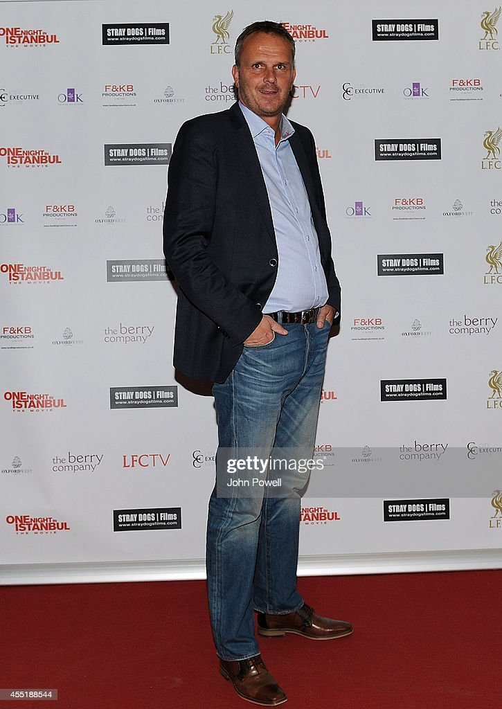 Didi Hamann at the World Premiere of 'One Night In Istanbul' at Odeon cinema in Liverpool One on September 10, 2014 in Liverpool, England.