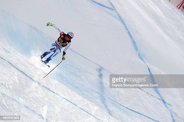 Didier Defago of Switzerland competes during the Audi FIS Alpine Ski World Cup Men's Downhill Training on December 17 2014 in Val Gardena Italy