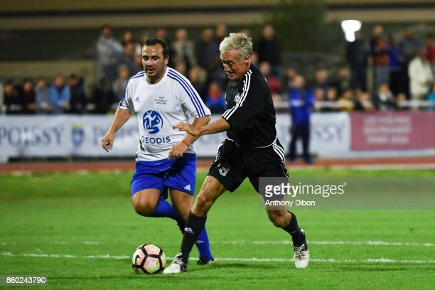 Didier Deschamps coach of France during the Charity match between Variete Club de France and Selection Geodis on October 11 2017 in Poissy France