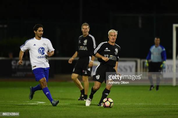 Didier Deschamps during the Charity match between Variete Club de France and Selection Geodis on October 11 2017 in Poissy France
