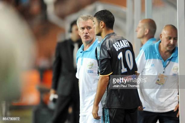 Didier DESCHAMPS / Hatem BEN ARFA Grenoble / Marseille 1ere journee de Ligue 1 Stade des Alpes Grenoble