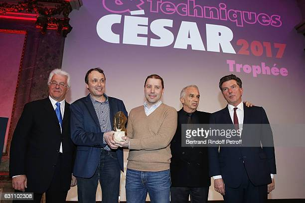 Didier Diaz Olivier Binet Daniel Toni Alain Terzian and Patrick Bezier attend the 'Cesars and Techniques 2017' Award Ceremony at Pavillon Cambon...
