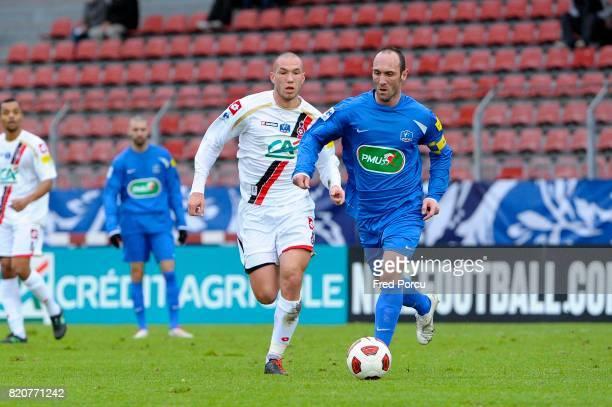 Didier DIGARD / Jean Michel LESAGE Creteil / Nice 1/32eme de Finale de la Coupe de France