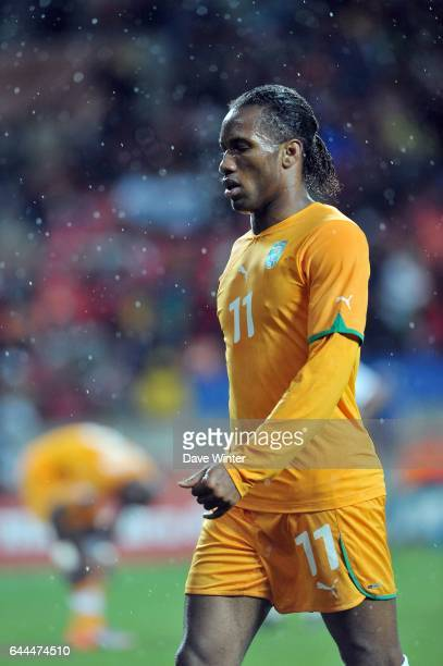 Didier DROGBA Cote d'Ivoire / Portugal Coupe du Monde 2010 Match 13 Groupe G Nelson Mandela Bay Stadium Port Elizabeth Afrique du Sud Photo Dave...