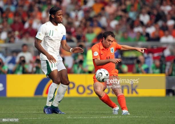 Didier DROGBA / Joris MATHIJSEN Pays Bas / Cote d'Ivoire Coupe du Monde 2006