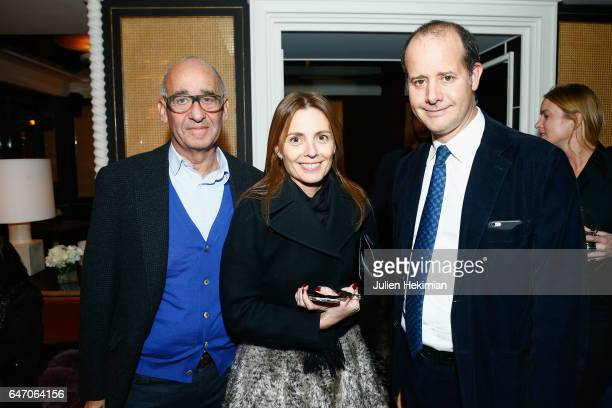 Didier Krzentowski Clemence Krzentowski and PierreAlexis Dumas attend the Mastermind Magazine launch dinner as part of Paris Fashion Week Womenswear...